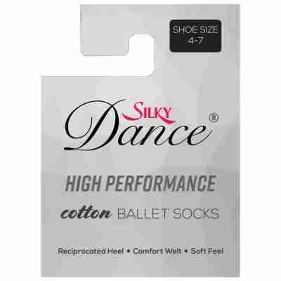Silky Dance High Performance Cotton Ballet Socks