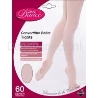 Silky Dance Convertible balletpanty voor kinderen in roze of huidkleur