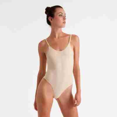 Silky Dance Invisible Laag Uitgesneden body