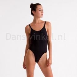 Silky Dance Invisible Hoog Uitgesneden body Zwart