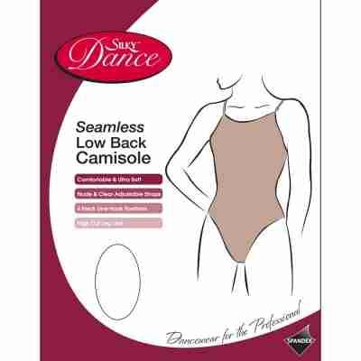 Silky Dance Naadloze Body Met Lage Rug Voor Kinderen huidskleurig ondergoed