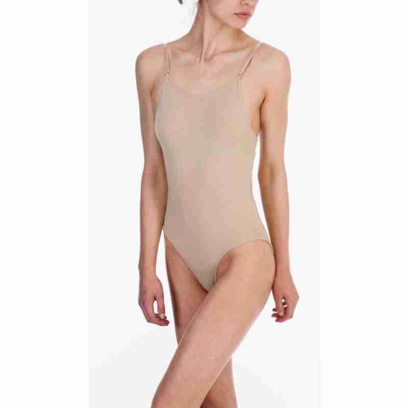 Silky Dance Naadloze Body Met Lage Rug Voor Kinderen