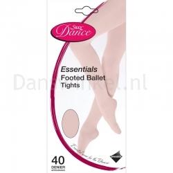 Silky Dance Essentials footed panty kinderen