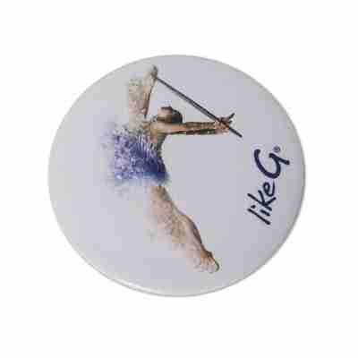 LikeG Klein Rond Spiegeltje voor Ritmische Gymnastiek Liefhebbers