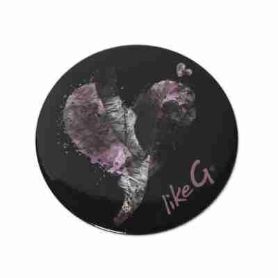 LikeG make-up spiegel met spitzen en hartvormige achtergrond