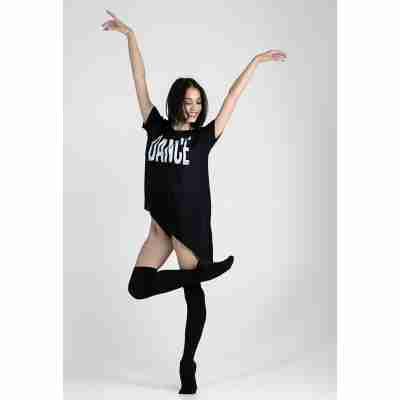 LikeG T-Shirt met Tekst Dance voor Dansers