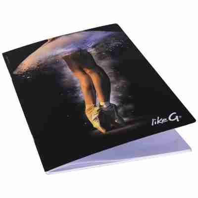 LikeG A4 Formaat Notitieboekje met Afbeelding Spitzen en Tutu