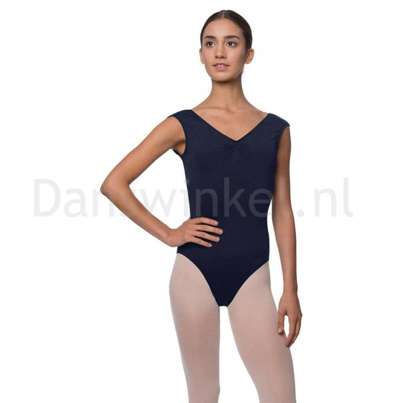 Lulli Dames Kapmouwtjes Balletpak Reyton navy