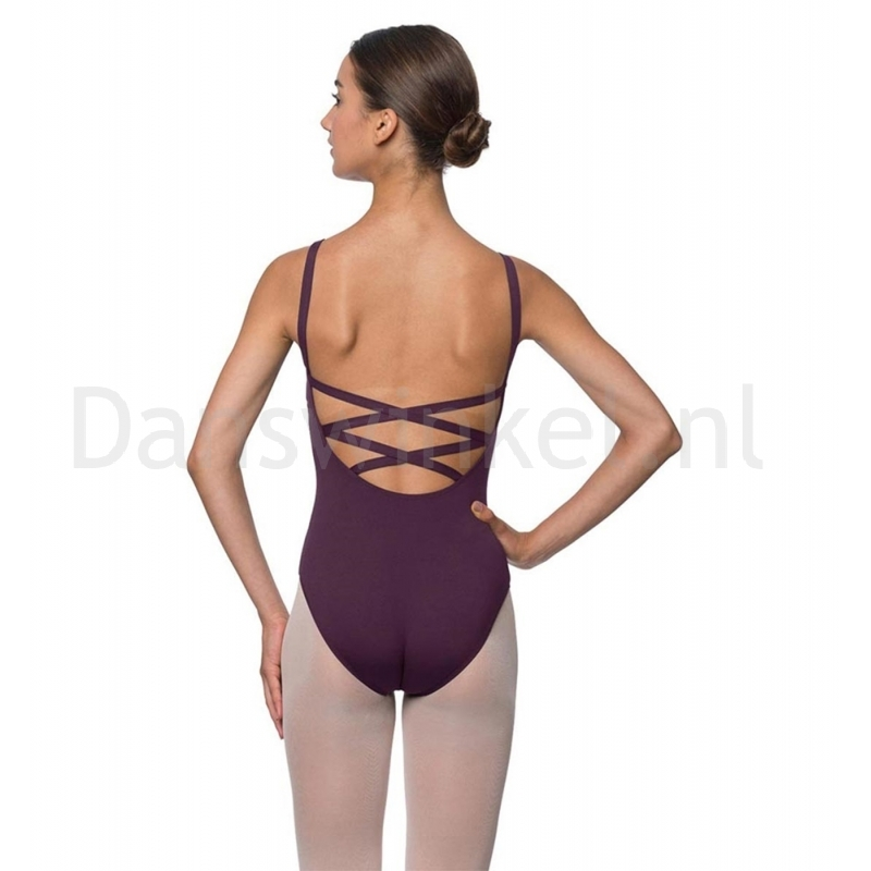 Lulli Dames Balletpak Veronica aubergine