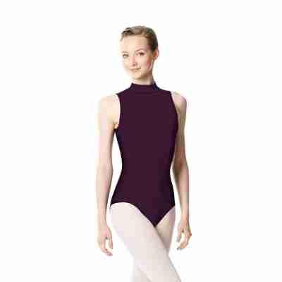 Lulli Dames Balletpak Anna aubergine