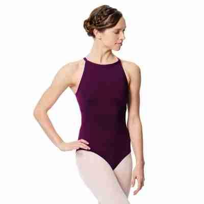 Lulli Dames Balletpak Taliana aubergine