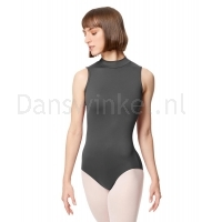Lulli Dames Mock Neck Balletpak Fancy dark grey