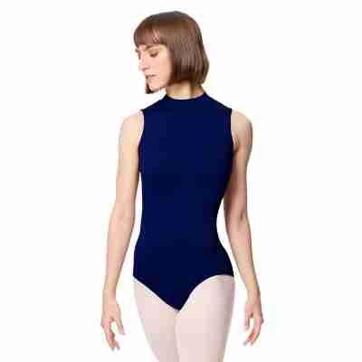 Lulli Dames Mock Neck Balletpak Fancy navy