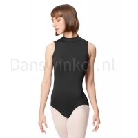 Lulli Dames Mock Neck Balletpak Fancy zwart
