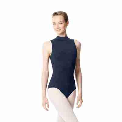 Lulli LUB253 Anna dames balletpakje met col navy