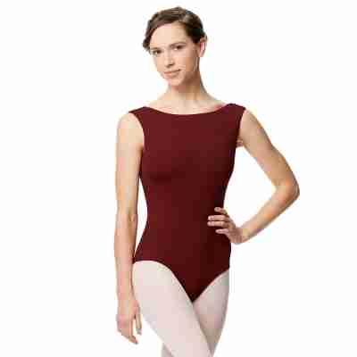 Lulli LUB284 Katja bordeaux Balletpakje voor dames