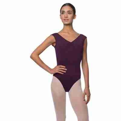 Lulli Peyton LUB222 Dames Balletpakje aubergine