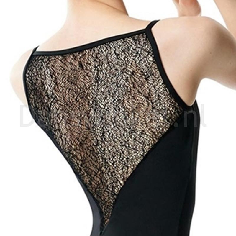 Lulli Dames V-Neck Balletpak Cordelia detail