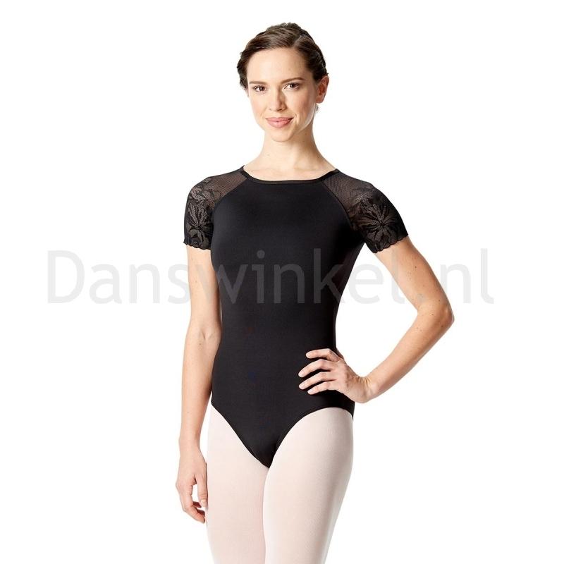 Lulli Balletpak met korte Mouwen Alessia voor meisjes