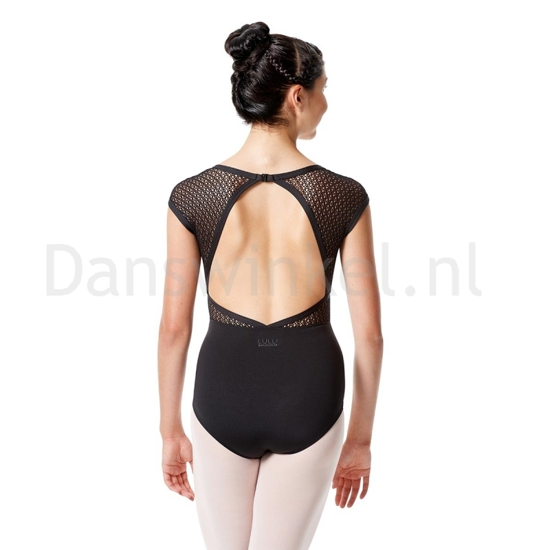 Lulli Dames Kapmouwtjes Balletpak  Ivanna achter