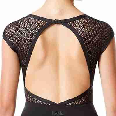 Lulli Dames Kapmouwtjes Balletpak  Ivanna detail