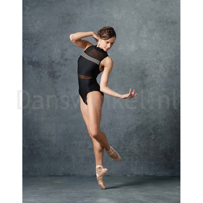 Lulli Dames Mock Neck Balletpak Lia