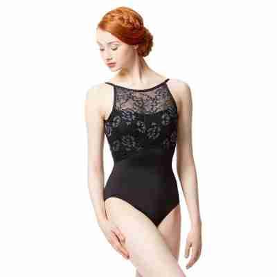 Lulli Dames gekleurde kanten Balletpak Dolores