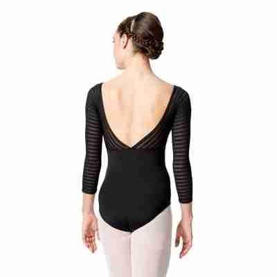Lulli LUF529 Milena dames balletpakje met lage rug