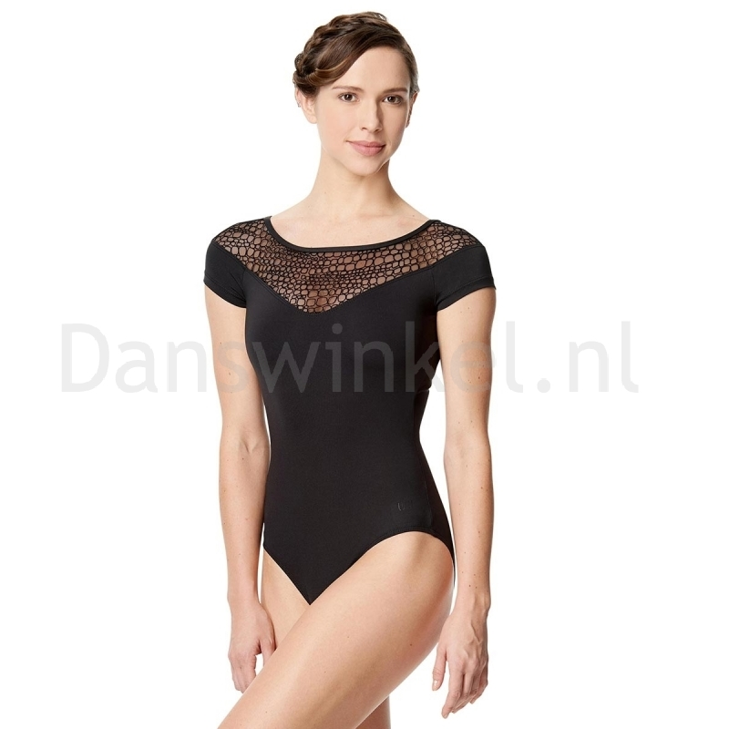 Lulli Dames Balletpak met korte Mouwen Milene