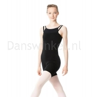 Lulli Dames Warm-Up Unitard zwart