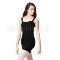 Lulli Dames Warm-Up Unitard zwart