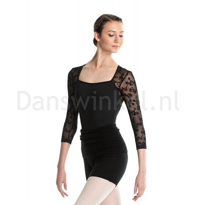 Lulli Dames Warm-Up Shorts zwart