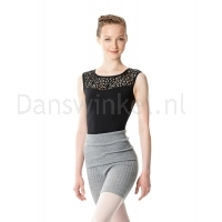 Lulli Dames Warm-Up Shorts grijs