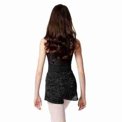 Lulli Dames Melange Warm-Up Shorts achter