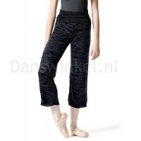Lulli Dames Warm-Up Panty Blauw melange
