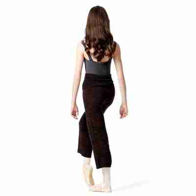 Lulli Dames Warm-Up Panty burgundy melange