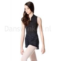 Lulli Dames knitted Warm-Up Shorts Blauw