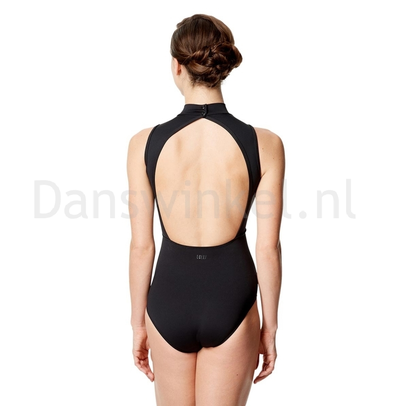 Lulli Dames Mock Neck Balletpak Eloa achter