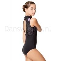 Lulli Balletpak Adriana voor meisjes lavender zijkant