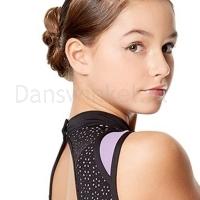 Lulli Balletpak Adriana voor meisjes lavender detail