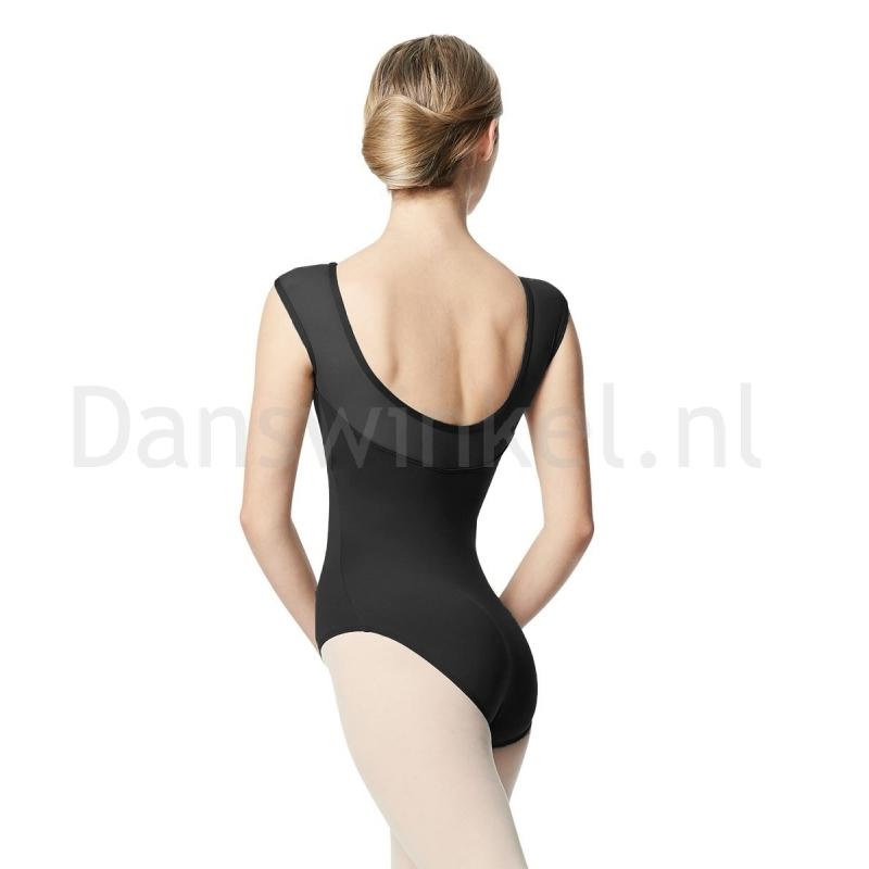 Lulli Dames Balletpak Nikita dark grijs Rug achter