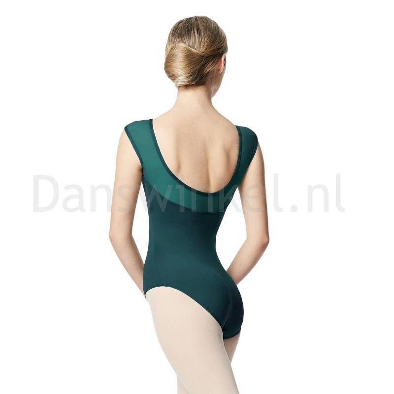 Lulli Dames Balletpak Nikita Teal achter