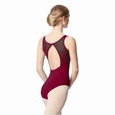 Lulli Dames Balletpak Toma burgundy achter