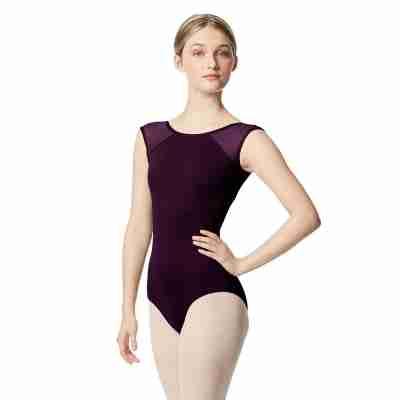 Lulli Dancewear LUB348 Nikita Dames balletpakje Aubergine