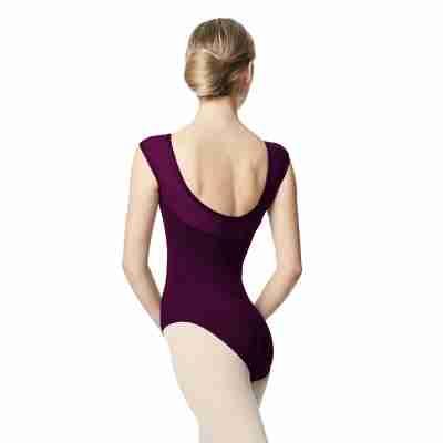 Lulli Dancewear LUB348 Nikita Dames balletpakje donkerpaars
