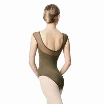 Lulli LUB348 Nikita Groen dames Balletpakje lage rug