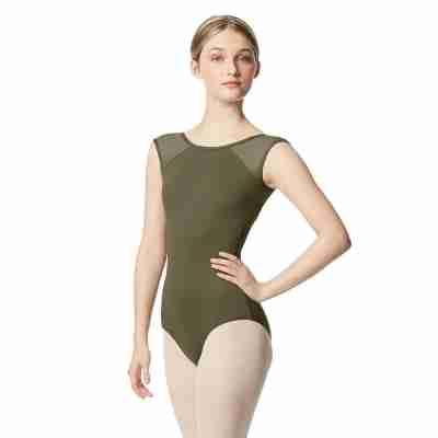 Lulli LUB348 Nikita Khaki Balletpakje voor dames
