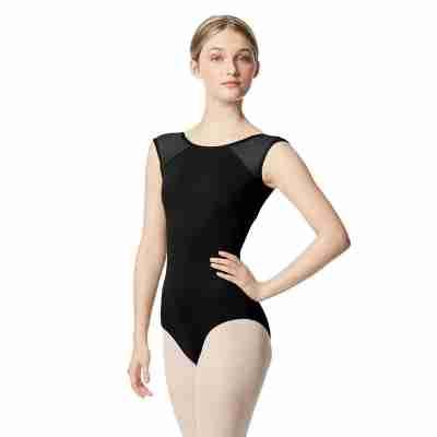Lulli Nikita LUB348 Dames Balletpak zwart met hoge hals