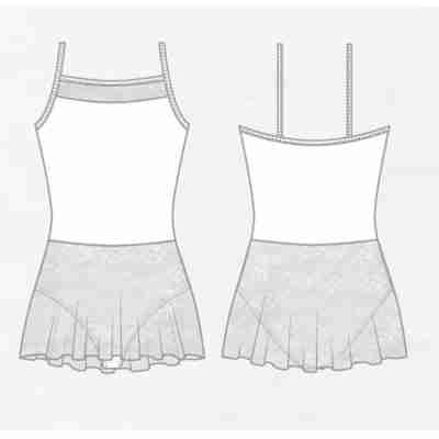 Lulli Balletpak met rokje Erin voor meisjes ontwerp