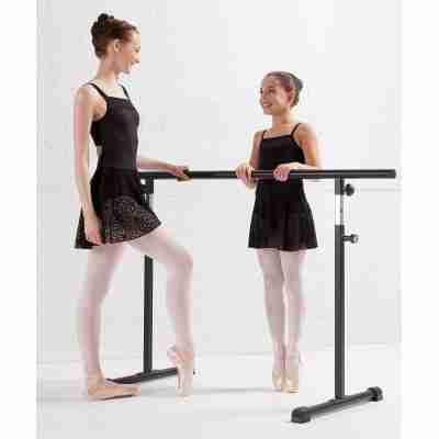 Lulli LUF485C Erin balletpakje met vast rokje van kant